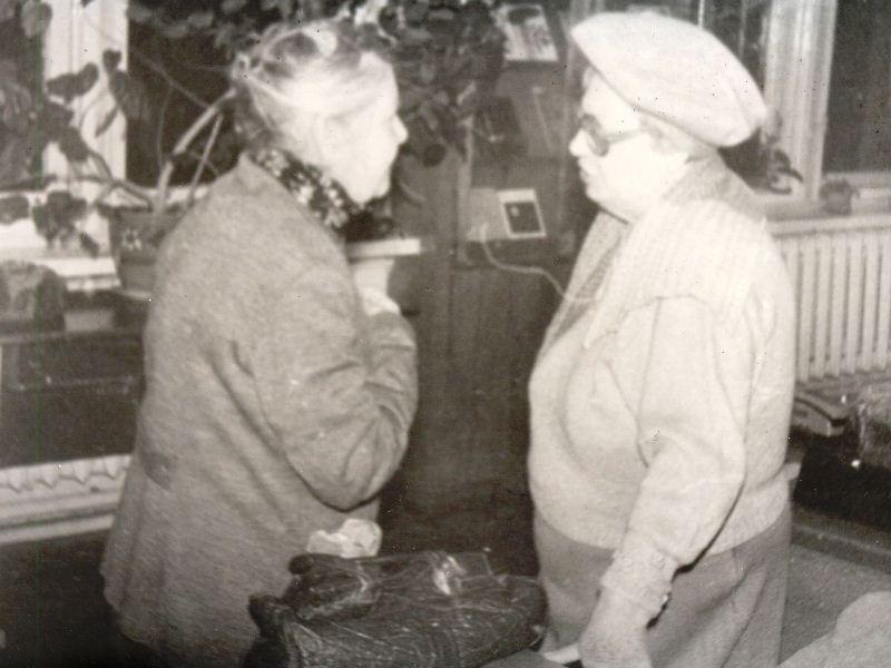 Євлалія Сергіївна Ніценко та Тетяна Вікторівна Тихомирова.