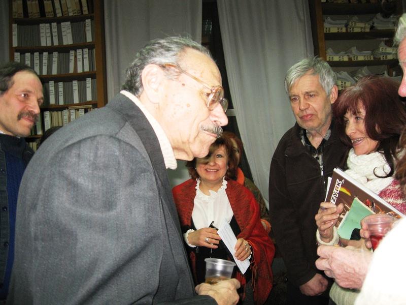 Після виступу архітектора Ігоря Миколайовича Лаврентьєва (на передньому плані).